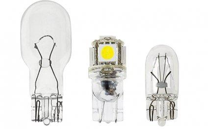 194 LED Bulb - 5 SMD LED Wedge