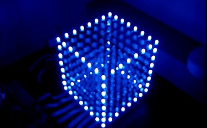 Cubo de LED 8X8X8 - Passo a