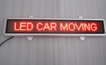 Mini LED Car Display Board