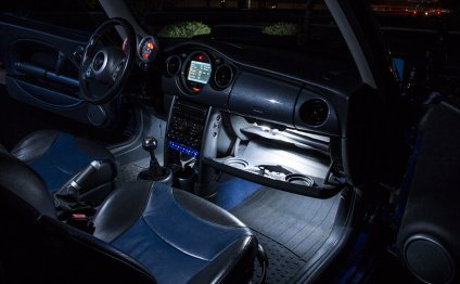 LED Interior Car Map