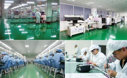 Large-scale LED factory