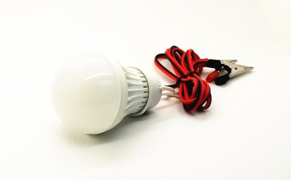 Emergency wiring 6V led light