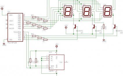 Schematic Temperature Sensor