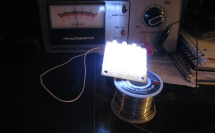 Bulk LEDS For A Homemade Light