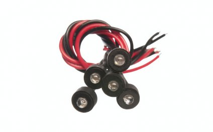 MINIATURE LED LAMPS BLU 3V