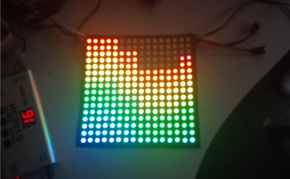 Led matrix screen flexible
