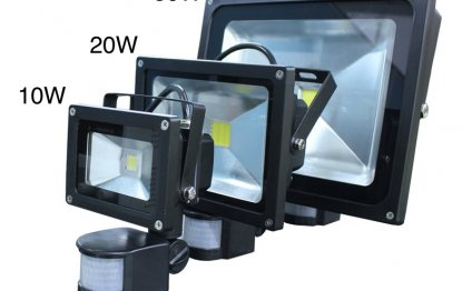 LED flood lights are