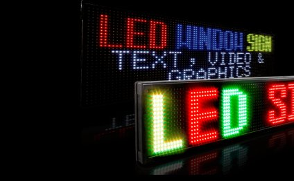 Window LED Signs