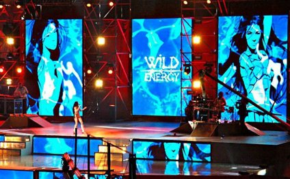 Stage, LED screens