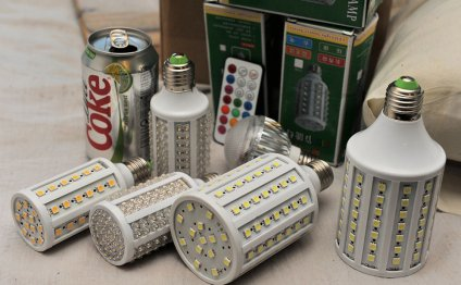 Different LED bulbs