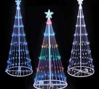LED Lightshow Trees