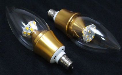 Type b Candelabra bulbs LED