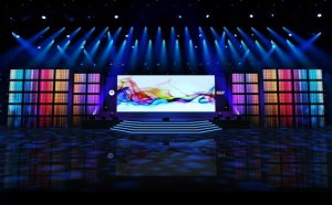 Large LED screens