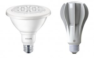 LED reading light bulbs