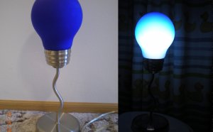 Light Bulb Shaped Lamp