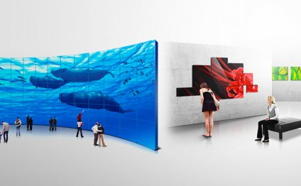 Samsung LED display