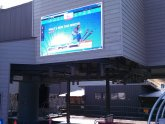 Advertising LED screens