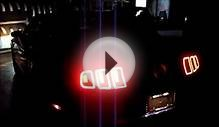 2013 2014 Mustang Pony Projection Lamp LED Tail Lights