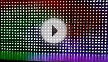 arduino digital LED Pixel Light Screen