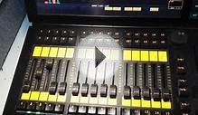 Desk Lights On Faders