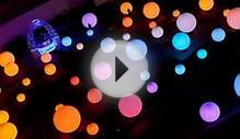DJ Lights: 85 Colorful LED Globes Controlled by Body Movement