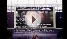 France outdoor LED video display, LED screen, Digital
