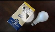 GE 170watt Reader/Task light bulb