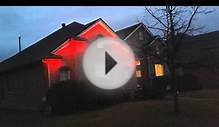 House dynamic led lights