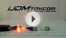 iJDMTOY 168 LED Bulbs for 2004 Nissan 350Z Parking Lights