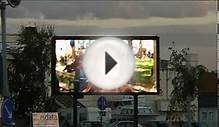 LED advertising screen, very nice one