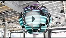 LED BALL-Movable function of LED screen with fantastic design