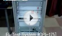 LED EL TEST SYSTEM (OPI-175) | Withlight
