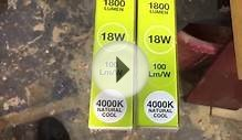 LED Shop Light replacement bulbs