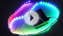 LED Strip Mood Lighting Effect