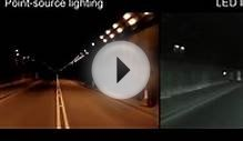 LED Tunnel Lighting Comparison