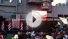 LED Wall Display Jumbotron Big Screen Panel Rental and
