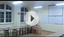 Lighting classroom at school - LED fluorescent tube - T8