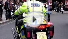 London Police Motorcycle Rear LED lights
