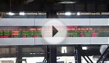 Multicolor Information LED Display Board Mount in Steel Plant