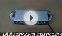 New Mini Light Bar - CPS Authority Emergency LED Warning