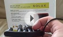 Reading Light for Refugee Camp: SOLUX-LED-50