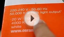 Replace fluorescent downlight to save energy-Osram LED