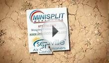 Senville Minisplit Air Conditioner. LCD Display and LED