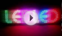 seven color led display. led display boards delhi india