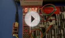 Seven Segment LED Display Multiplexing using LPC2138 on