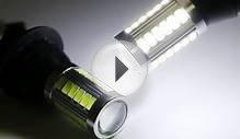 Super Bright 33-SMD Universal Fit LED Replacement Bulbs