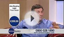 TV Advert - Alex Reading Light - Floor