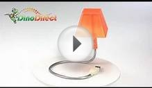 USB 8 LED Desk Lamp HK-L3010 from Dinodirect.com