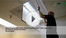 Willamette Direct Replacement LED Tube Lights from LED Trail